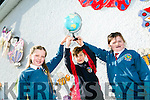 Scoil Eoin Balloonagh students Hazel O Donoghue, Paddy Lane and Lucy Grattan are featuring on RTE Jr's Rockateer Programme