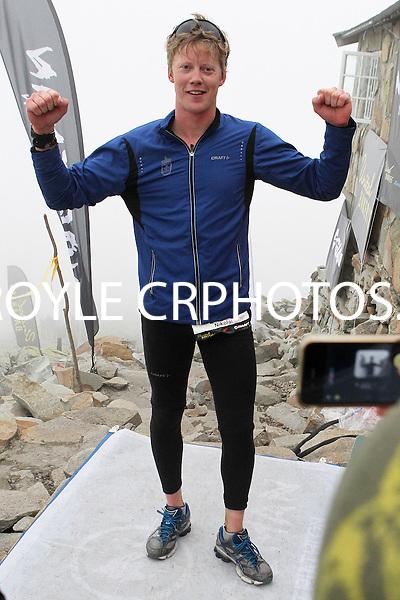 Race number 176 Nikolai Faukstad -  Sunday Norseman Xtreme Tri 2012 - Norway - photo by chris royle / boxingheaven@gmail.com