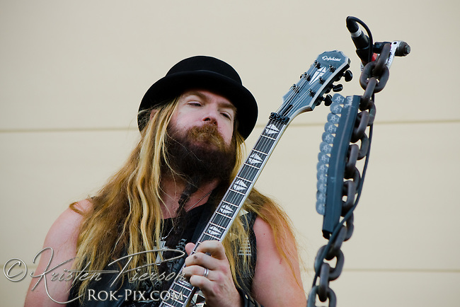 Black Label Society perform at Edgefest August 1, 2009