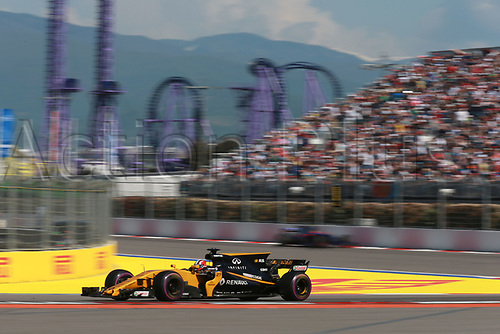 April 30th 2017, Sochi, Russia;  FIA Formula One World Championship 2017, Grand Prix of Russia, <br /> #27 Nico H&uuml;lkenberg (Renault Sport F1 Team)