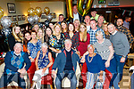 Tralee man, Teddy O'Sullivan, seated centre, celebrated his 70th birthday last Saturday night in Gally's bar, in the town surrounded by many friends and family.