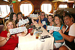 Kim Zimmer and fans play bingo called by Liz Keifer play at Meet & Greet - Day 2 - August 1, 2010 - So Long Springfield at Sea aboard Carnival's Glory (Photos by Sue Coflin/Max Photos)
