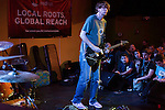September 6, 2013. Raleigh, North Carolina.<br />  Thurston Moore at King's. <br /> For the fourth year in a row, bands and fans hit the streets and venues of downtown Raleigh for the HOPSCOTCH music festival.