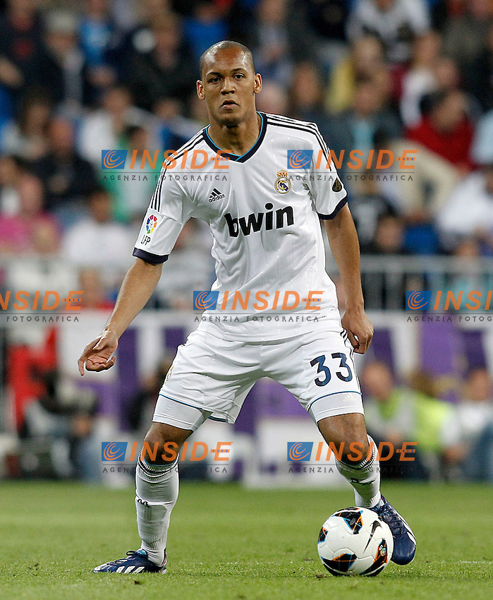Real Madrid's Fabinho during La Liga match.May 08,2013. (ALTERPHOTOS/Acero) .Football Calcio 2012/2013.La Liga Spagna.Foto Alterphotos / Insidefoto .ITALY ONLY
