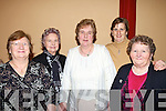 Noreen Flavin, Listowel, Mary Hourigan, Ann Woods, Knockanure, Mary Ann O'Connor and Cait Baker, Listowel, having a good time at the tea dance in the Community Centre Knockanure on Sunday.