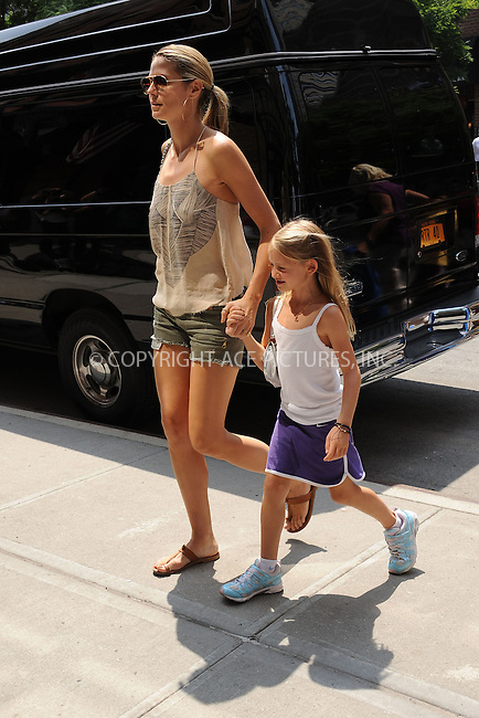 WWW.ACEPIXS.COM . . . . . .June 21, 2011...New York City....Heidi Klum and Leni walking in Tribeca on June 21, 2011 in New York City. Please byline: KRISTIN CALLAHAN - ACEPIXS.COM.. . . . . . ..Ace Pictures, Inc: ..tel: (212) 243 8787 or (646) 769 0430..e-mail: info@acepixs.com..web: http://www.acepixs.com .