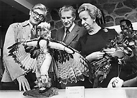 Governor General and Madame Jules Leger<br /> <br /> Griffin, Doug<br /> Picture, 1975,