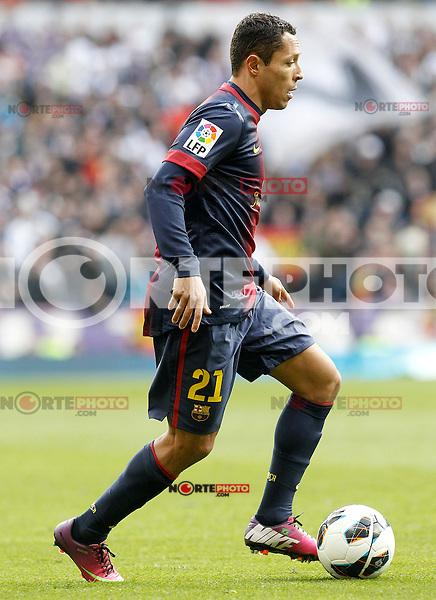 FC Barcelona's Adriano Correia during La Liga match.March 02,2013. (ALTERPHOTOS/Acero) /NortePhoto