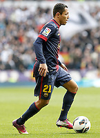 FC Barcelona's Adriano Correia during La Liga match.March 02,2013. (ALTERPHOTOS/Acero) /NortePhoto