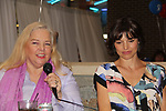 Elvera Roussel & Michelle Ray Smith - Guiding Light at the 2nd Annual Bauer Barbeque  with trivia contests, Family Feud contest, photos, autographs, Q & A on October 8, 2017 - a part of the Guiding Light Daytime Stars and Strikes for Autism weekend at the Residence Inn, Secaucus, New Jersey. (Photo by Sue Coflin/Max Photo)