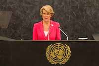 New York, Sept 24, 2013 Australian Foreign Minister Julie Bishop