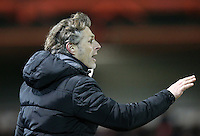 Accrington Stanley manager John Coleman during match<br /> <br /> during the Sky Bet League 2 match between Accrington Stanley and Wycombe Wanderers at the Wham Stadium, Accrington, England on 16 March 2016. Photo by Tony (KIPAX) Greenwood / PRiME Media Images.