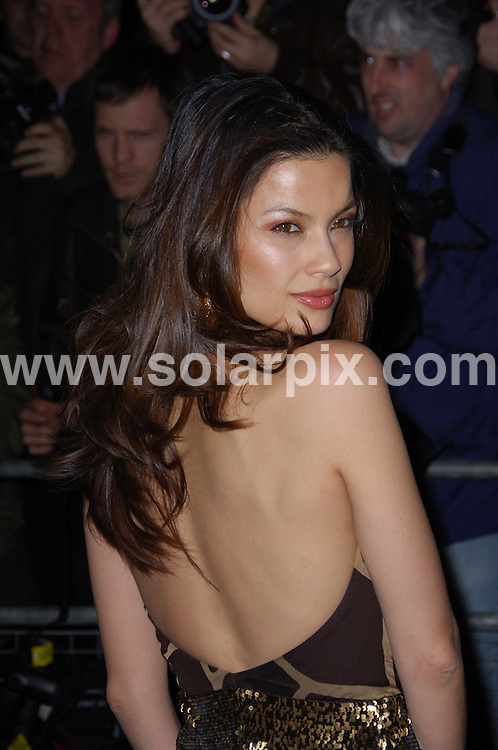 **ALL ROUND PICTURES FROM SOLARPIX.COM**.**WORLDWIDE SYNDICATION RIGHTS**.Burberry and Vanity Fair preview party at the National Portrait Gallery. Monday, February 11th 2008   ..This pic: Natassia 'Scarlet' Malthe..JOB REF: 5751 MSR    DATE: 11_02_2008.**MUST CREDIT SOLARPIX.COM OR DOUBLE FEE WILL BE CHARGED* *UNDER NO CIRCUMSTANCES IS THIS IMAGE TO BE REPRODUCED FOR ANY ONLINE EDITION WITHOUT PRIOR PERMISSION*