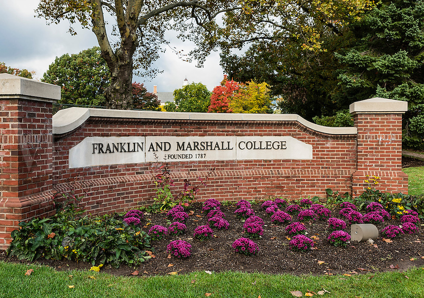 Franklin & Marshall college campus, Lancaster, Pennsylvania, USA