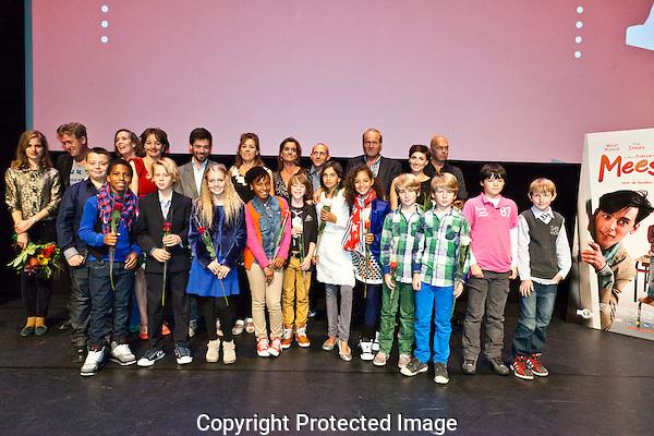 Premiere Mees Kees in de stadsschouwburg Utrecht. Cast en Crew Foto: Nichon Glerum.Utrecht, 26 sept - 4 okt 2012.Nederlands Film Festval 2012, NFF.2012, NFF12.