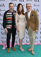 David Furnish, Patrick Cox at V&amp;A Museum Summer Party fundraising benefit hosted by CondŽ Nast at Victoria and Albert Museum, London, England on June 22, 2016.<br /> CAP/JOR<br /> &copy;JOR/Capital Pictures<br /> David Furnish, Patrick Cox at V&amp;A Museum Summer Party fundraising benefit hosted by Cond&eacute; Nast at Victoria and Albert Museum, London, England on June 22, 2016.<br /> CAP/JOR<br /> &copy;JOR/Capital Pictures /MediaPunch ***NORTH AND SOUTH AMERICAS ONLY***