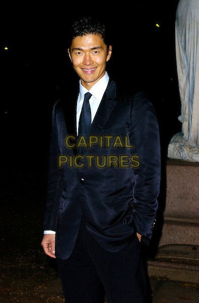 "RICK YUNE.At the After Party for the World Film Premiere of ""Casino Royale"", Berkeley Square Gardens, London, UK..November 14th 2006.Ref: CAN.half length blue suit jacket.www.capitalpictures.com.sales@capitalpictures.com.©Can Nguyen/Capital Pictures"