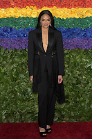 NEW YORK, NEW YORK - JUNE 09: Karen Olivo attends the 73rd Annual Tony Awards at Radio City Music Hall on June 09, 2019 in New York City. <br /> CAP/MPI/IS/JS<br /> ©JSIS/MPI/Capital Pictures