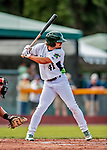 29 July 2018: Vermont Lake Monsters infielder Jeremy Eierman in action against the Batavia Muckdogs at Centennial Field in Burlington, Vermont. The Lake Monsters defeated the Muck Dogs 4-1 in NY Penn League action. Mandatory Credit: Ed Wolfstein Photo *** RAW (NEF) Image File Available ***