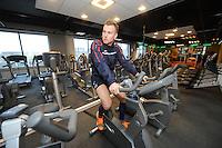 VOETBAL: HEERENVEEN: Sportstad, 07-04-2015, Revalidatie Jordy Buijs van kruisband blessure, ©foto Martin de Jong