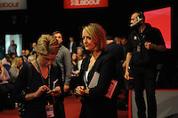 Liverpool, England. 24th September, 2016. <br />  Laura Kuenssberg, political editor of BBC news, prior to the announcement of the new leader of the Labour Party at the ACC Conference Centre.The leadership race involved nine weeks of campaigning between Labour leader Jeremy Corbyn and Owen Smith. This is his second leadership election in just over twelve months and was initiated by the decision of Angela Eagle to stand against him. Kevin Hayes/Alamy Live News