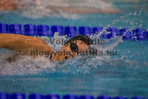 Boglarka Kapas of Hungary competes in the Women's 800m Freestyle of the 31th European Swimming Championships in Debrecen, Hungary on May 23, 2012. ATTILA VOLGYI