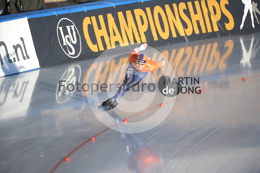 SPEED SKATING: COLLALBO: Arena Ritten, 11-01-2019, ISU European Speed Skating Championships, Kai Verbij (NED), ©photo Martin de Jong