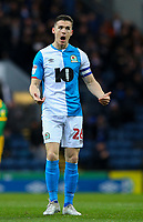 Blackburn Rovers' Darragh Lenihan<br /> <br /> Photographer Alex Dodd/CameraSport<br /> <br /> The EFL Sky Bet Championship - Blackburn Rovers v Preston North End - Saturday 11th January 2020 - Ewood Park - Blackburn<br /> <br /> World Copyright © 2020 CameraSport. All rights reserved. 43 Linden Ave. Countesthorpe. Leicester. England. LE8 5PG - Tel: +44 (0) 116 277 4147 - admin@camerasport.com - www.camerasport.com