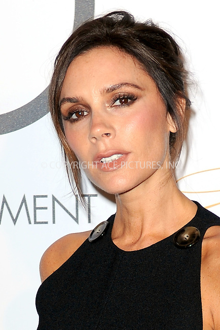 WWW.ACEPIXS.COM<br /> September 28, 2015 New York City<br /> <br /> UNAIDS goodwill ambassador Victoria Beckham attends the Fashion 4 Development's 5th annual Official First Ladies luncheon at The Pierre Hotel on September 28, 2015 in New York City.<br /> <br /> Credit: Kristin Callahan/ACE Pictures<br /> <br /> Tel: (646) 769 0430<br /> e-mail: info@acepixs.com<br /> web: http://www.acepixs.com