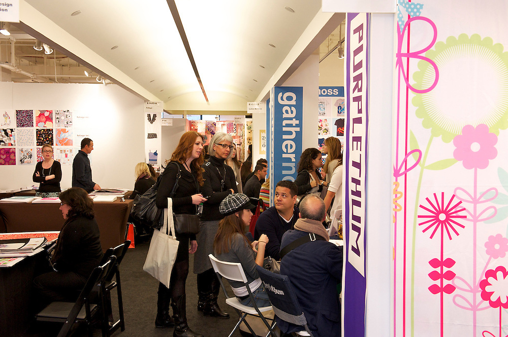 Printsource New York textile industry trade show