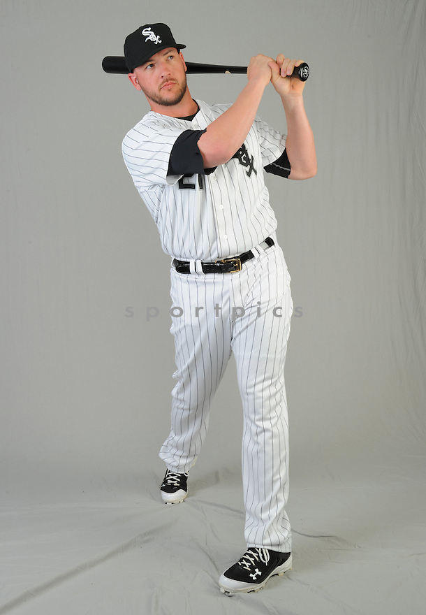 Chicago White Sox Tyler Flowers (21) during photo day on February 28, 2015 in Glendale, AZ.
