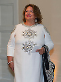 Georgina Rinehart arrives for the State Dinner hosted by United States President Donald J. Trump and First lady Melania Trump in honor of Prime Minister Scott Morrison of Australia and his wife, Jenny Morrison, at the White House in Washington, DC on Friday, September 20, 2019.<br /> Credit: Ron Sachs / Pool via CNP