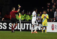Swansea, UK. Thursday 20 February 2014<br />