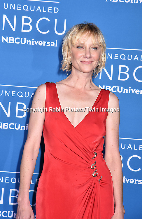 Anne Heche of The Brave attends the NBCUNIVERSAL 2017 UPFRONT on May 15, 2017 at Radio City Music Hall in New York, New York, USA.<br /> <br /> photo by Robin Platzer/Twin Images<br />  <br /> phone number 212-935-0770