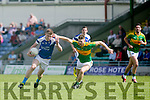 In Action KOR's Tommy Walsh gets away from  S'Kerry's  Aidan Walsh in the Senior County Football Championship Round 1 Kerins O'Rahillys V South Kerry   at Austin Stack Park on Sunday