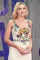 "Margot Robbie<br /> arrives for the ""Suicide Squad"" premiere at the Odeon Leicester Square, London.<br /> <br /> <br /> ©Ash Knotek  D3142  03/08/2016"