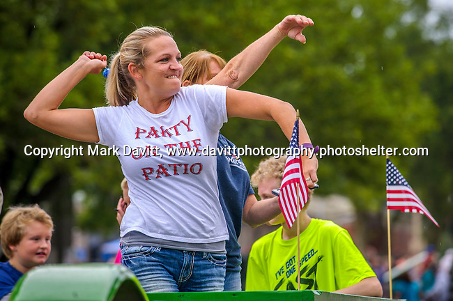 It was a great way to begin Thomas Mitchell Days with a parade down Center Avenue in Mitchellville. It was a party on the Team 36 Bar and Grill float as they tossed candy to the crowd.