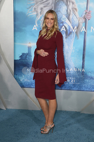 """HOLLYWOOD, CA - DECEMBER 12: Ashlan Gorse Cousteau, at Premiere Of Warner Bros. Pictures' """"Aquaman"""" at The TCL Chinese Theater in Hollywood, California on December 12, 2018. Credit: Faye Sadou/MediaPunch"""