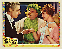 The Great Ziegfeld (1936) <br /> Lobby card with William Powell, Myrna Loy &amp; Frank Morgan<br /> *Filmstill - Editorial Use Only*<br /> CAP/MFS<br /> Image supplied by Capital Pictures