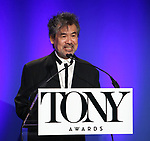 David Henry Hwang during The 73rd Annual Tony Awards Nominations Announcement on April 30, 2019 in New York City.