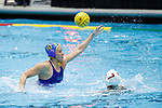 INDIANAPOLIS, IN - MAY 14: Mackenzie Barr (10) of UCLA defends during the Division I Women's Water Polo Championship against Stanford University held at the IU Natatorium-IUPUI Campus on May 14, 2017 in Indianapolis, Indiana. (Photo by Joe Robbins/NCAA Photos/NCAA Photos via Getty Images)