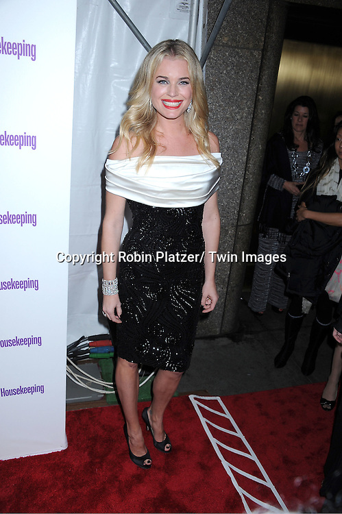 "Rebecca Romijn attending The Good Housekeeping ""Shine On"" Event .on April 12, 2011 at Radio City Music Hall in New York City. This event benefits The National Women's History Museum."