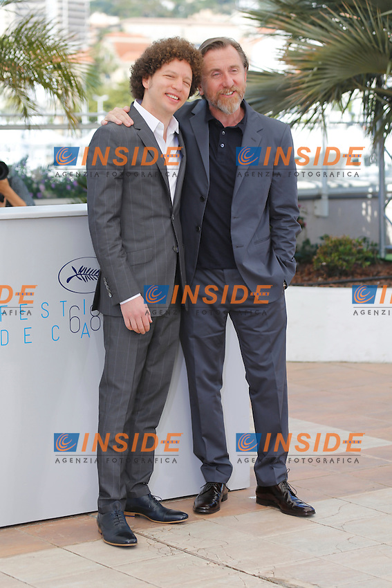 Michel Franco - Tim Roth <br /> Festival del Cinema di Cannes 2015<br /> Foto Panoramic / Insidefoto