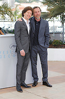 Michel Franco - Tim Roth <br /> Festival del Cinema di Cannes 2015<br /> Foto Panoramic / Insidefoto