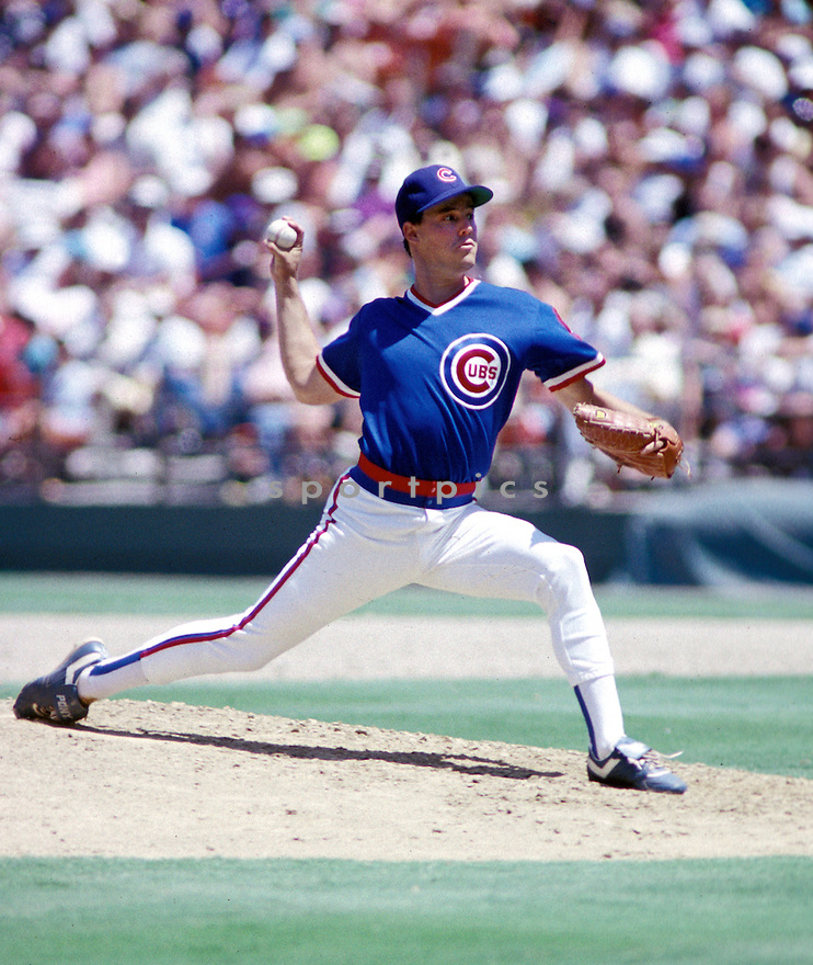 Chicago Cubs Greg Maddux(31) in action during a game from the1989 season. Greg Maddux played for 23 years with 4 different and was inducted to the Baseball Hall of Fame in 2014.David Durochik/SportPics