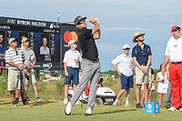 Brian Gay (USA) watches his tee shot on 8 during round 4 of the AT&T Byron Nelson, Trinity Forest Golf Club, at Dallas, Texas, USA. 5/20/2018.<br /> Picture: Golffile | Ken Murray<br /> <br /> All photo usage must carry mandatory copyright credit (© Golffile | Ken Murray)