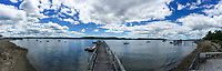 View from Doc's Dock, Castine, Maine, US
