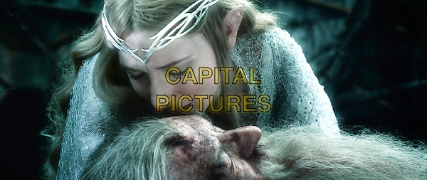 Cate Blanchett, Ian McKellen<br /> in The Hobbit: The Battle of Five Armies (2014) <br /> *Filmstill - Editorial Use Only*<br /> CAP/NFS<br /> Image supplied by Capital Pictures