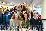 Enjoying a night  at the Kingdom Greyhound Stadium on Friday. were Leonie Murphy, Edel Sheehan, James Mcauliffe back Siobhan Kelleher and Moira Donlea