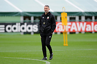 Ryan Giggs manager of Wales during the Wales Training Session at The Vale Resort in Cardiff, Wales, UK. Monday 8 October 2018